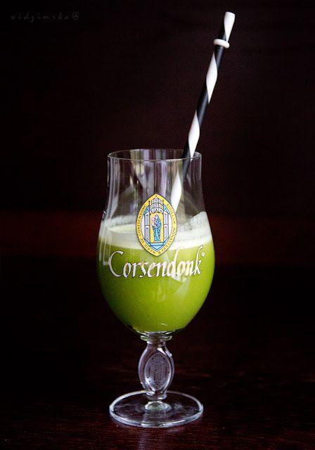 Widzimrka: Koktajl zielony/Green coctail