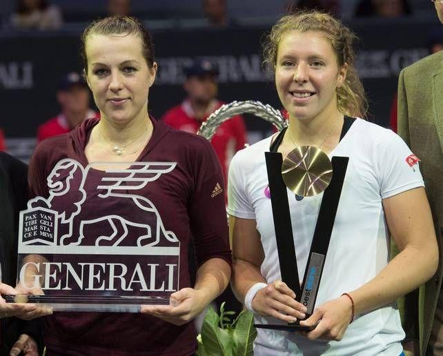 La rusa Anastasia Pavlyuchenkova derrotó a la alemana Anna Lena Friedsam, por 6-4 y 6-3 en 83 minutos en la final para hacerse con el título del torneo de Linz (Austria).