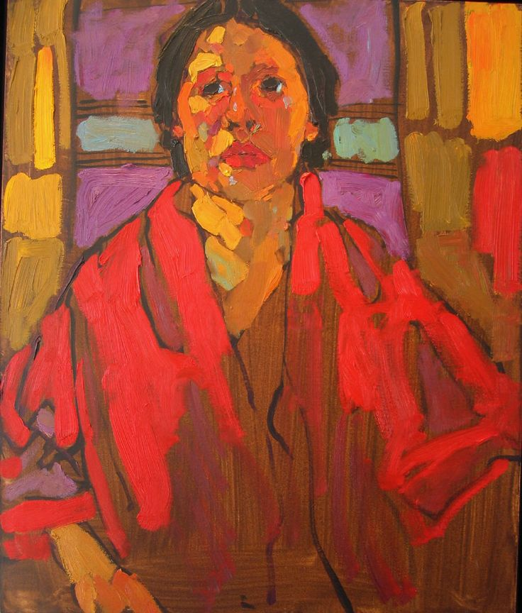 Artist: Arthur Shilling, Title: PORTRAIT OF A YOUNG WOMAN - Circa 1983 - click to close window