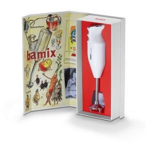 Bamix 60 jarig jubileum model (limited edition) van €189,- NU €159,-