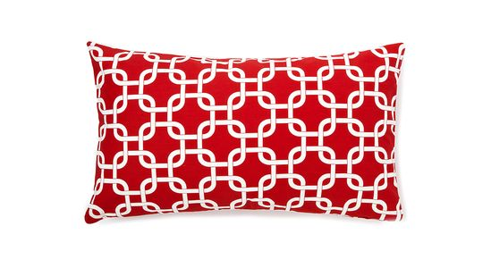 Bold geometric pillows for your bed, sofa or chairs! Art and artful home decor is the easiest way to add movement to any space. It doesn't cost a fortune to breathe life into a space. Mix patterns or play it safe with a monochromatic look. Cherry 14x24