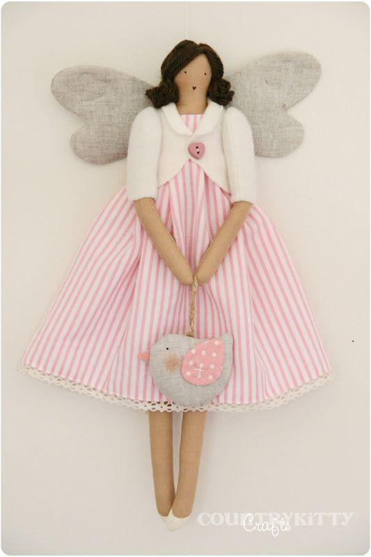 Countrykitty: A cotton fairy