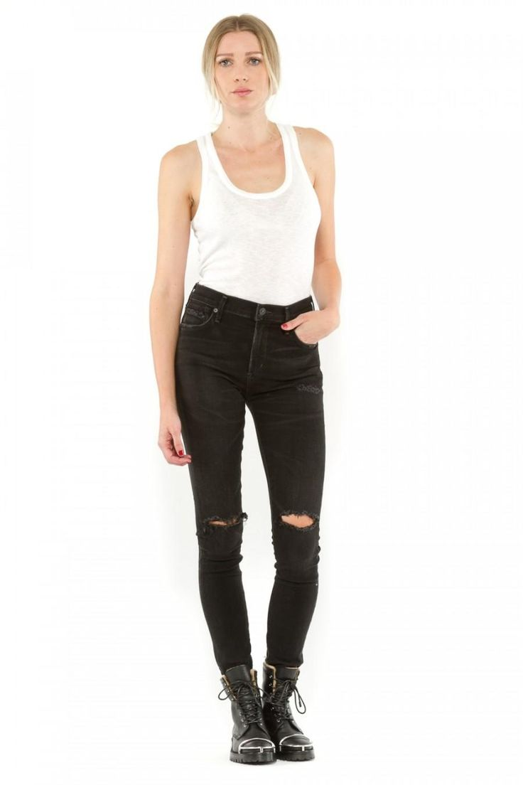 CITIZENS OF HUMANITY Rocket High Rise Skinny Jeans. #citizensofhumanity #cloth #
