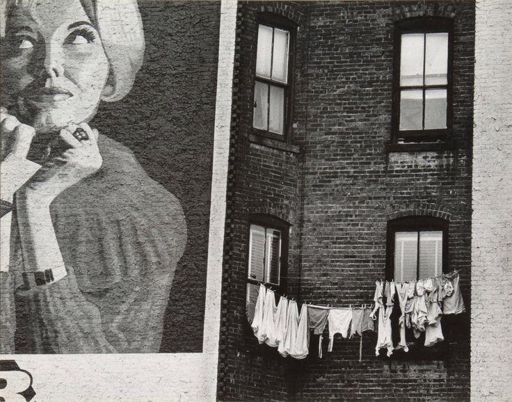 Rebecca Lepkoff. Lower East Side Facade, 1947 ·