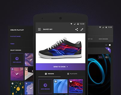 World's first app-driven smartshoes invented by a team of futurists, entrepreneurs and engineers. Netguru created real-time shoe design customization app. ShiftWear allows you to display HD images, designs, or animations on your shoes, and create your own…