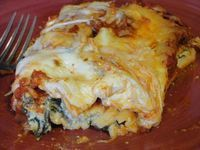 Ultimate Crab And Spinach Manicotti With Parmesan Cheese Sauce Recipe - Food.com