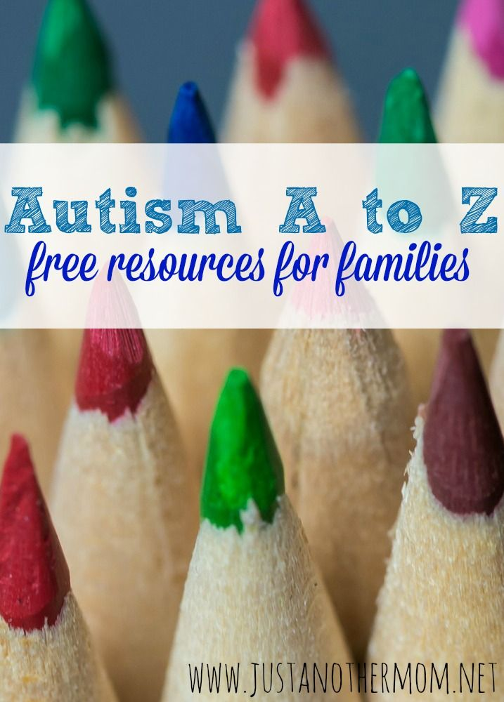 Next in our Autism A to Z series: free resources for families of children on the autism spectrum.