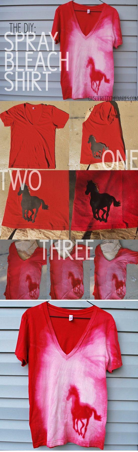 Spray Beach Silhouette Shirt. Idea for Cricut vinyl.