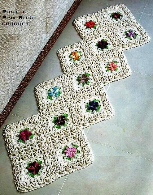 Luxury Crochet Mats Patterns Composition Easy Scarf Knitting