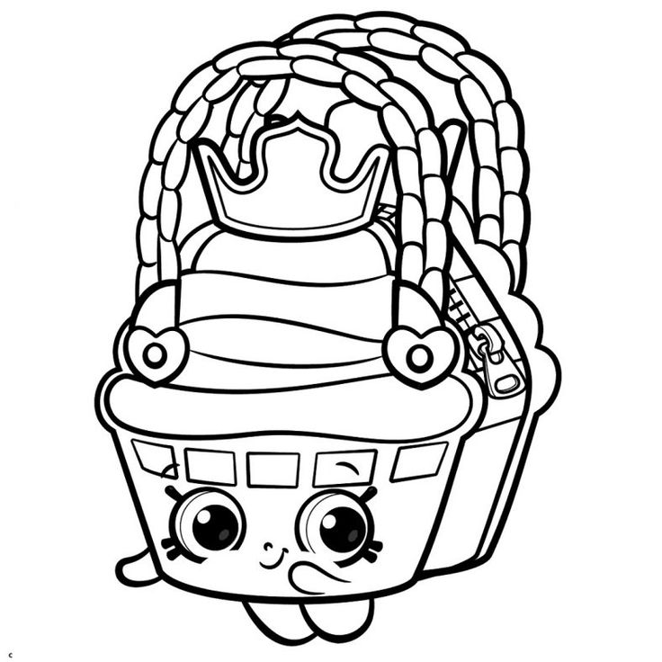 Printable Shopkins Coloring Pages in 2020 | Shopkins ...