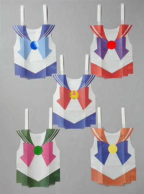 美少女戦士セーラームーン × keisuke kanda : 紙エプロン