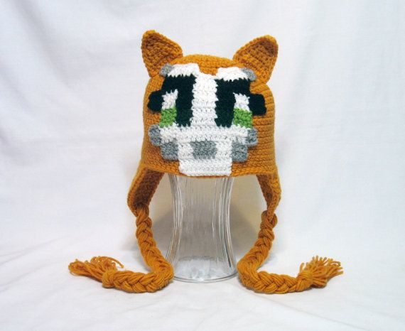 Stampy Hat Stampy Longnose Minecraft Stampy by DeesCozyCreations