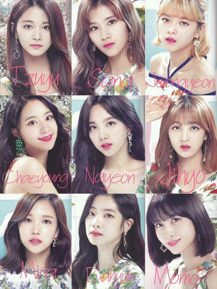 Name Twice Kpop Girl Groups Kpop Group Names Twice Kpop