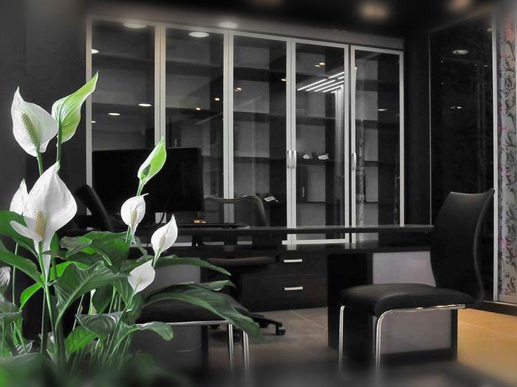Современная библиотека и кабинет на заказ. В доме и офисе.