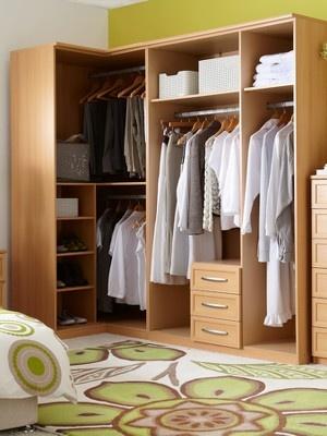 Oslo 2-door Corner Wardrobe