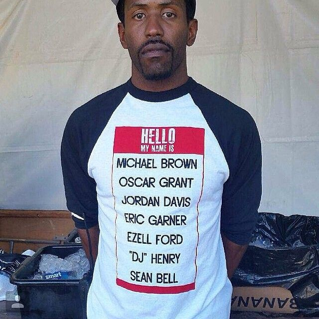 West coast rapper, Murs sports an incredible shirt from #WalkerWear. Love!!!