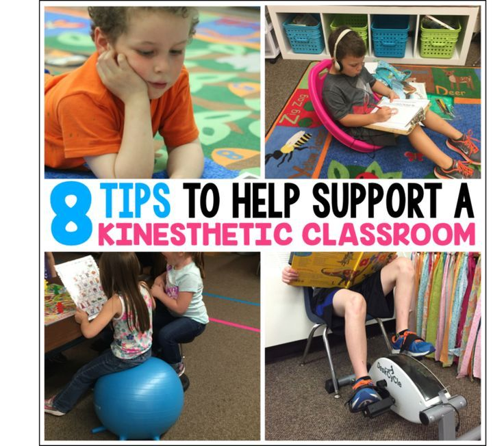 It's not JUST about flexible seating.  Gather tips and suggestions to physically adjust your classroom to help support movement and kinesthetic learners in your classroom .