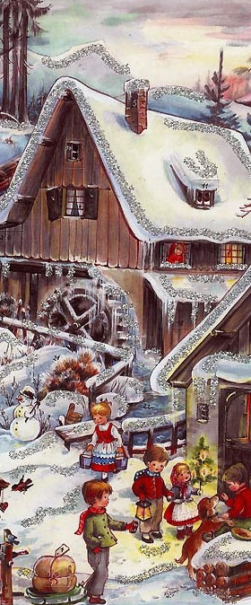 Christmas advent calendar form Germany
