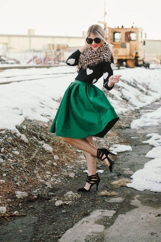 Hermosas faldas de temporada | Colección Otoño Invierno: