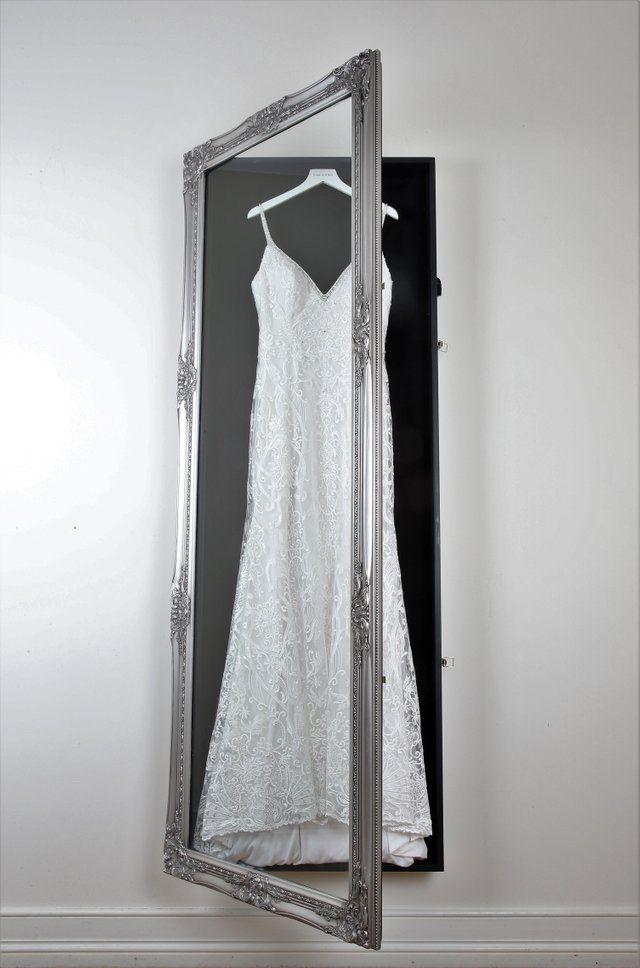 Anyone Else Love Wedding Dress Frames Wedding Wedding Dress Frame Wedding Dress Display Wedding Dress Storage