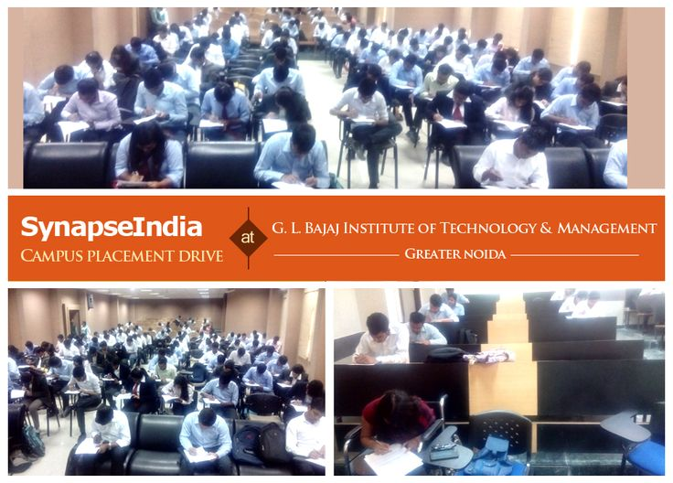 A campus placement drive by SynapseIndia was conducted at GLBITM (G. L. Bajaj Institute of Technology & Management) in Greater Noida, Uttar Pradesh. B.Tech final year students from CSE, ECE streams & MBA final year students appeared in SynapseIndia campus placement drive. We offer SynapseIndia career opportunities to B.Tech freshers through campus recruitment for open positions with us in different IT & business disciplines including .Net, Android, SEO, ORM and Testing.