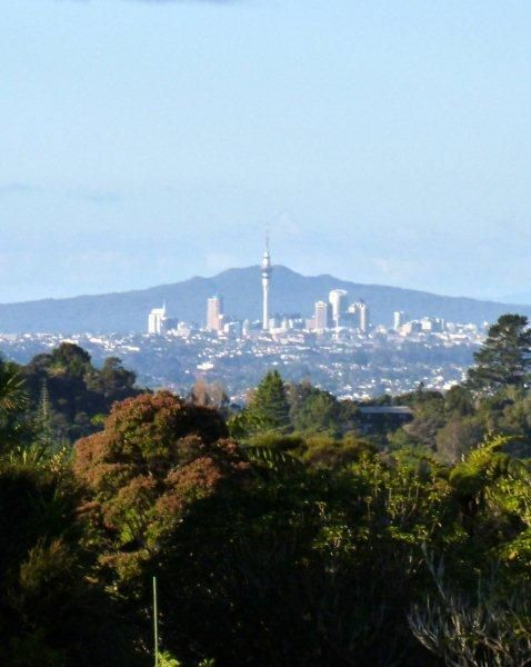 Auckland from Waitakere. New Zealand.