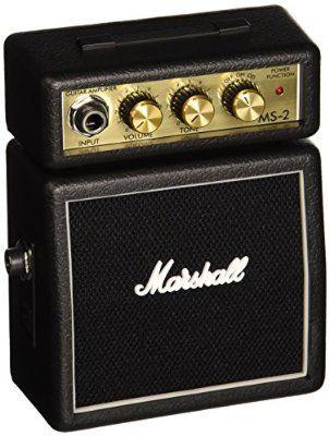 Marshall MS-2 Micro Amp Mini amplificateur 2 Watts pour Guitare