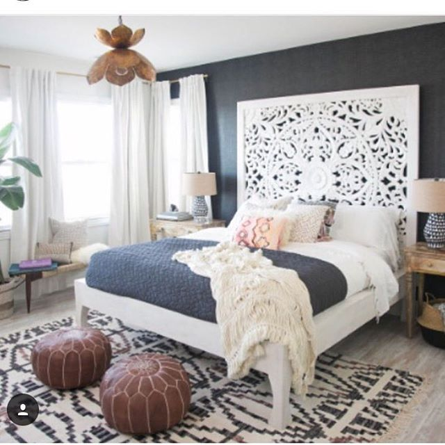 """Thanks to @ashredmonddesign at @decoristofficial for helping my vision come to life!!!.... Check out my blog for more details and pictures of My """"sexy Bali bungalow"""" inspired bedroom!! Www.audrinapatridge.com  also on @people website:)!"""