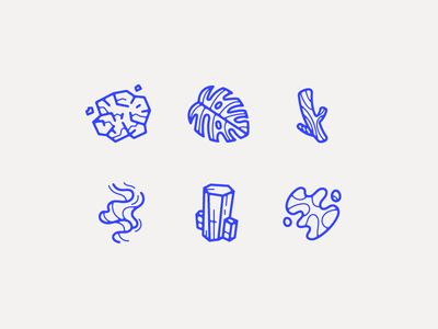 Dribbble - Earth Day Icons by Ryan Putnam