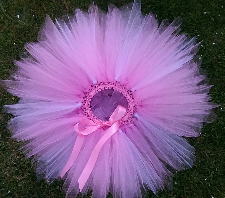 Pretty pink tutu all sizes can be custom made