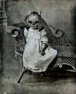 halloween child - even Victorian parents could be weird