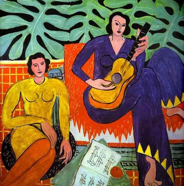 """Music"" Henri Matisse"