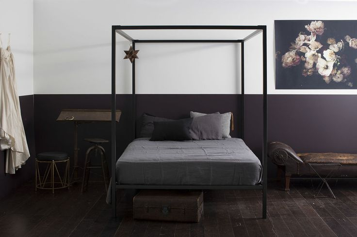 Four-poster black - Incy Interiors