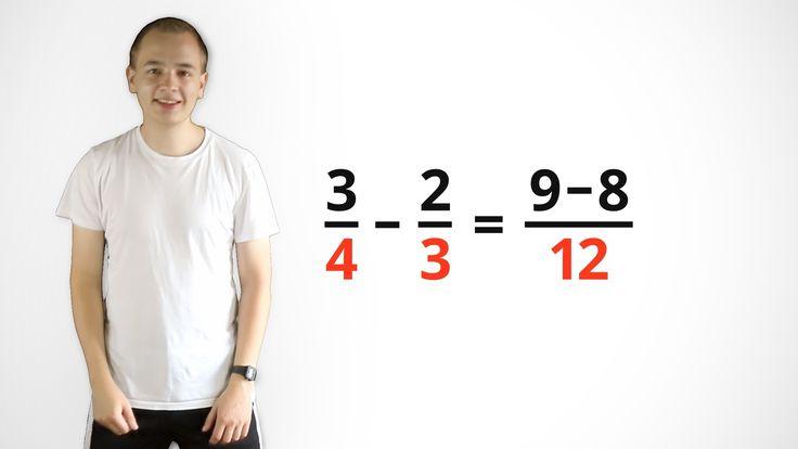 Brüche addieren - mit vedischer Mathematik (Mathe-Song)