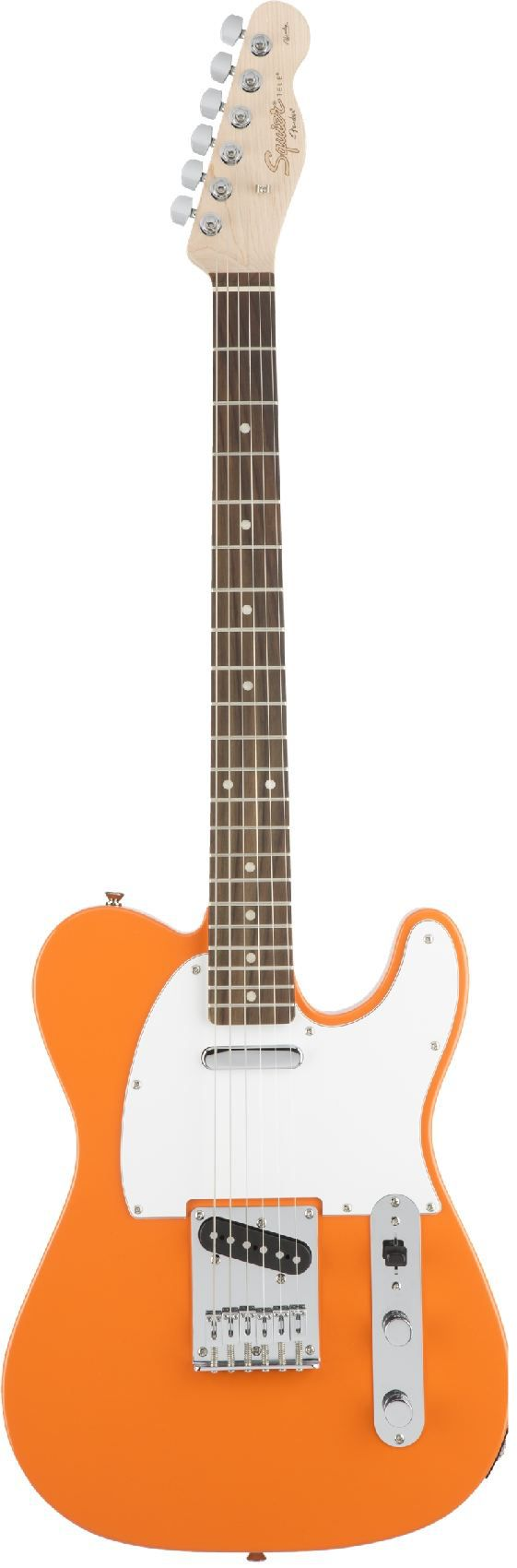 fender squier affinity series telecaster® rosewood fingerboard competition orange