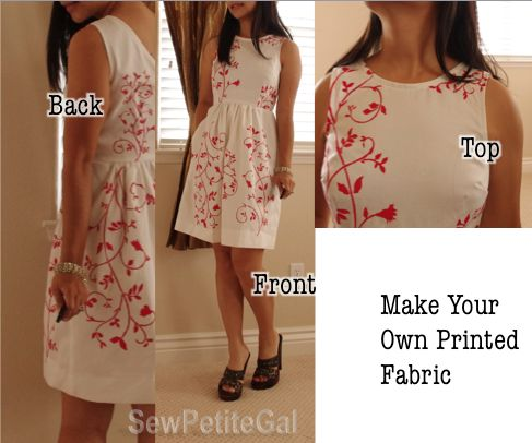 DIY - Make Your Own Printed Fabric