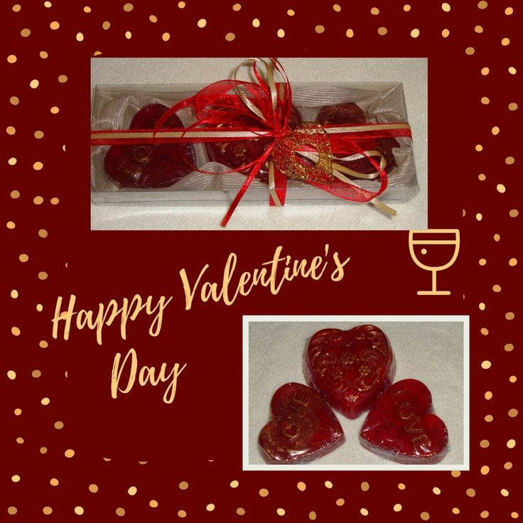 A Useful, Luxurious, Unique gift for Valentine Day..... Handmade Gift Set in Cream-Beige-Ecru Color very nice decorated with a heart containing three Heart Scented Luxury Soaps in pomegranate scent.