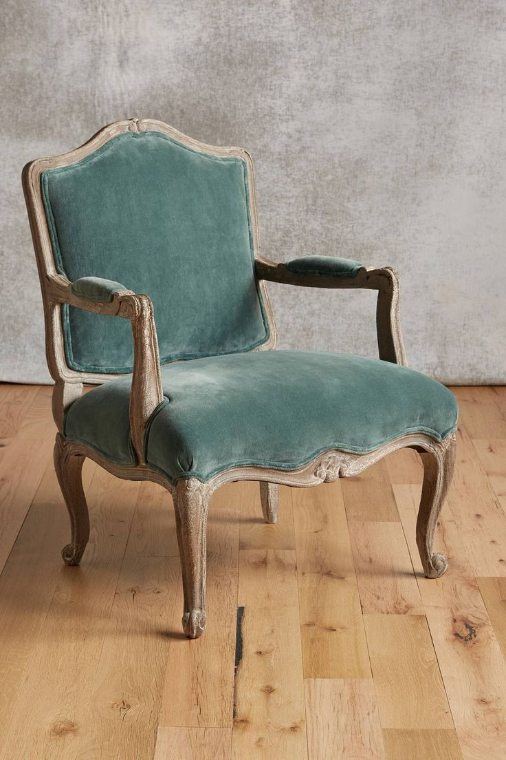 Velvet viola occasional chair occasional chairs viola for Interesting armchairs