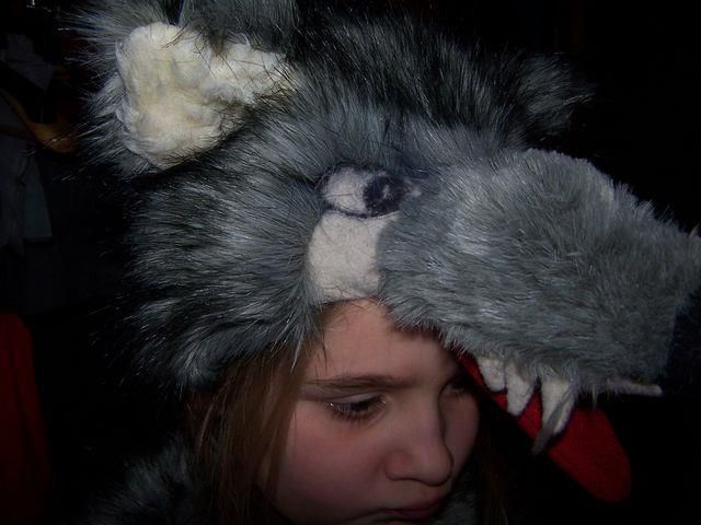 Выкройка костюма волка для ребенка