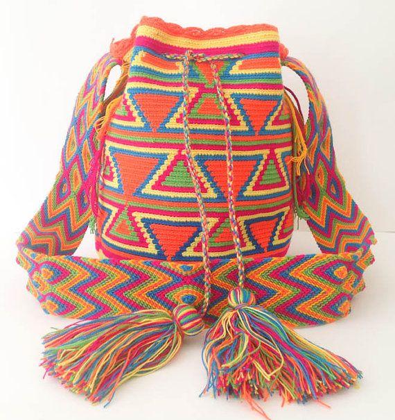 Tribal Mochila Wayuu Bag Different styles