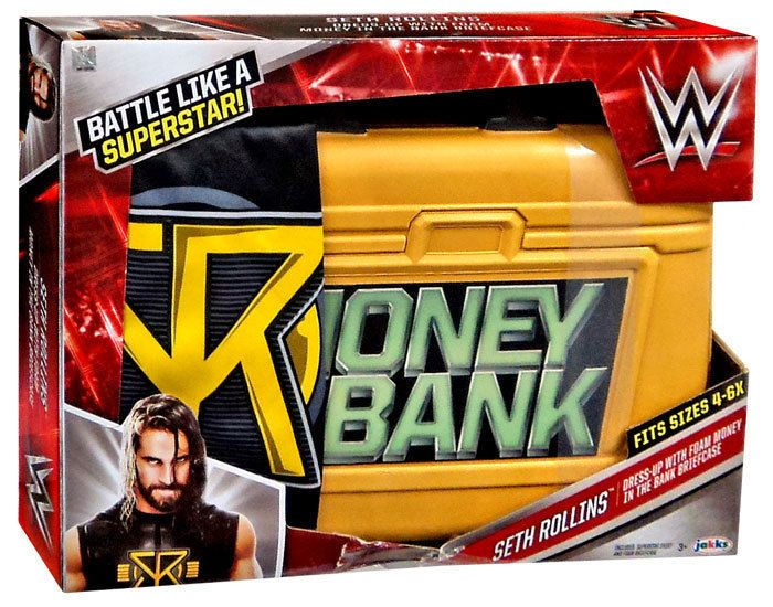 WWE BATTLE LIKE A SUPERSTAR SETH ROLLINS SHIRT MONEY IN THE BANK CASE BRIEFCASE - http://bestsellerlist.co.uk/wwe-battle-like-a-superstar-seth-rollins-shirt-money-in-the-bank-case-briefcase/