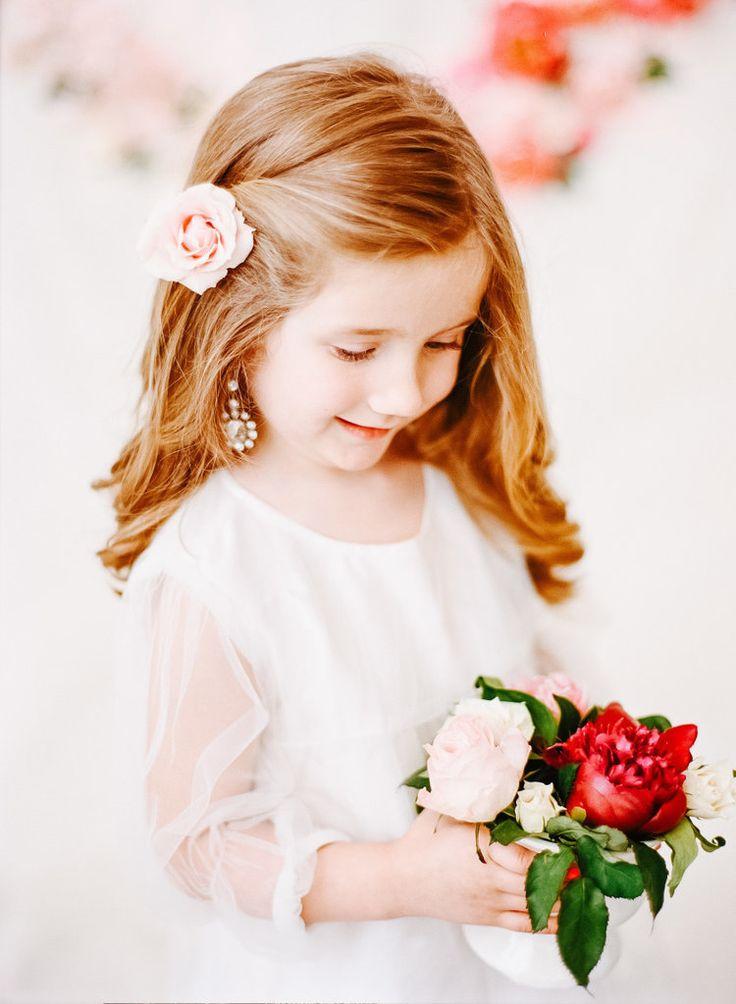 Best 25 Flower Girl Hairstyles Ideas On Pinterest Girl