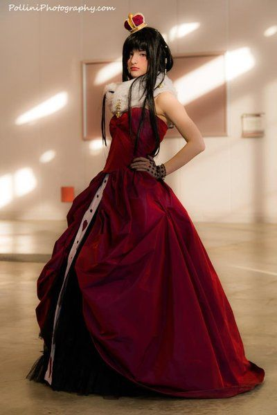 Original Costume - Queen of Hearts by SamuiCosplay on deviantART
