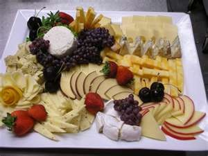 meat platters & cheese platters ...