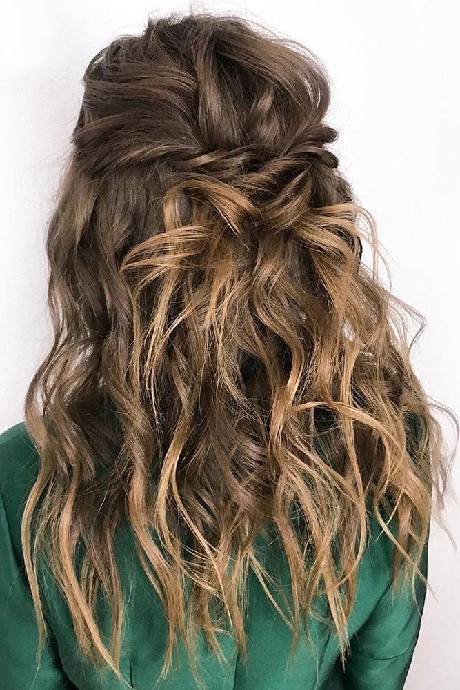 30 Wedding Hair Half Up Ideas - Favorite Hairstyles