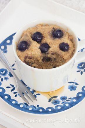 Leren hoe je een heerlijke maar gezonde ontbijt mug cake zonder ei maakt? Bekijk hier het recept en maak binnen enkele minuten een mug cake in de magnetron!