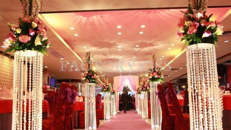 Crystal Bead Curtain Acrylic Art Door Curtain Home Wedding Decor Divider 10m IND