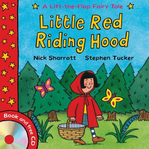 Little Red Riding Hood Lift The Flap Fairy Tales By Stephen Tucker
