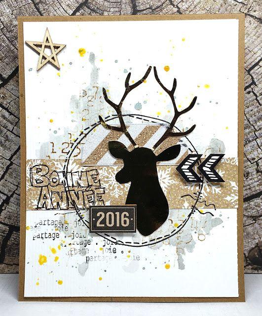Bekannt Plus de 25 idées uniques dans la catégorie Carte de voeux 2016 sur  IE83