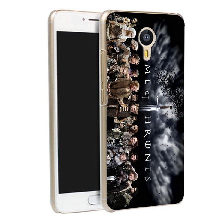 Meizu M5S M3S M3 U10 U20 M5 cover case For Game of thrones Pattern plastic cases covers - Direwolf Shop Direwolf Shop